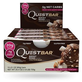 Quest Quest Protein Bar/Rocky Road INDIVIDUAL BAR