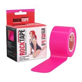 """Rock Tape Rock Tape 2"""" Pink Pre-Cut"""