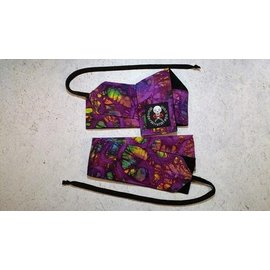 Wonder Wrist Wraps Purple Tie Dye Wrist Wraps