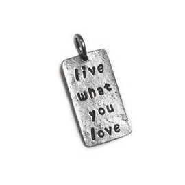 Fashletics Live What You Love Charm