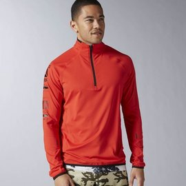Reebok Mens Advance 1/4 Zip Jacket