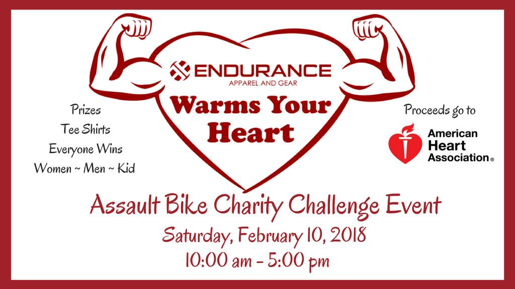 Endurance Warms Your Heart Charity Challenge