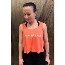Endurance Apparel & Gear Endurance Crop Tank Coral