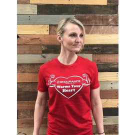 Endurance Apparel & Gear Donation Warms Your Heart Tee Shirt