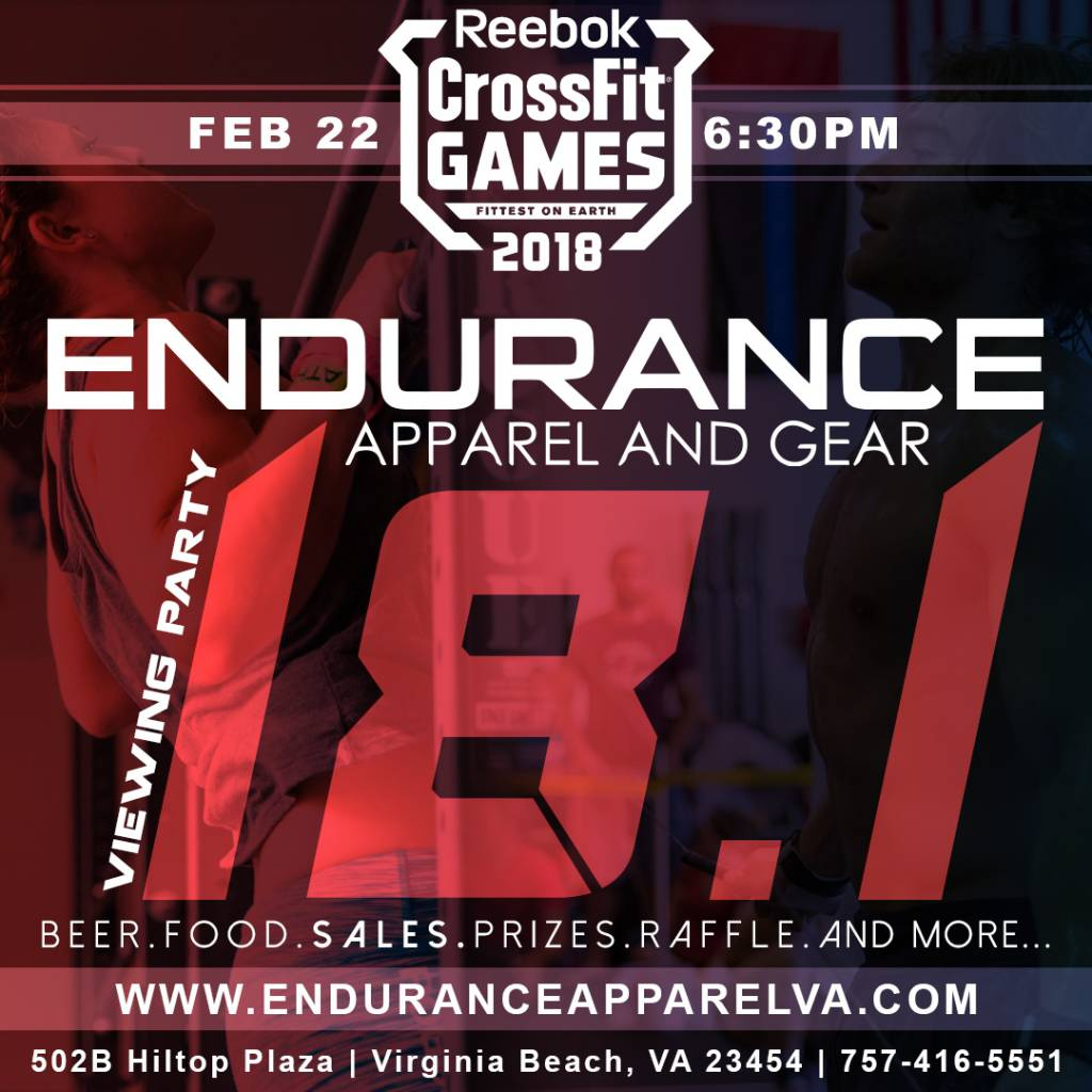 2018 CrossFit Open LIVE Viewing Party
