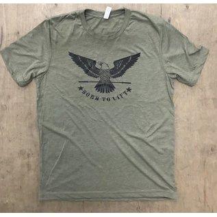 FeNOM Iron Eater Born to Lift T-shirt Mens