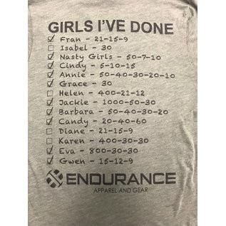 Endurance Apparel & Gear I'm Only In It For the Girls