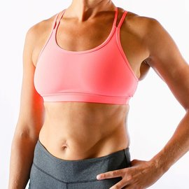 Born Primitive Warrior Sports Bra Coral