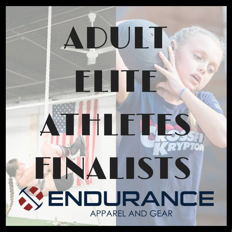 Adult Fall Elite Athlete Finalist