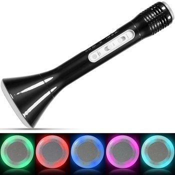 Wireless Karaoke Mic & LED Speaker