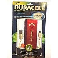 Duracell Rechargeable Portable Power Battery With Charge Cable