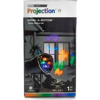LED Lightshow Projection Whirl A Motion