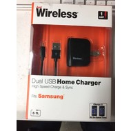 Just Wireless Dual USB Home Charger