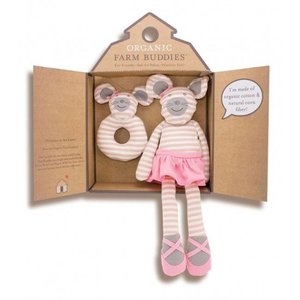 Apple Park Farm Buddies Ballerina Mouse Gift Set