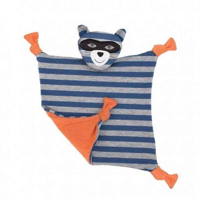 Apple Park Farm Buddies Robbie Raccoon Blankie
