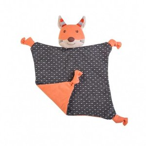 Apple Park Farm Buddies - Frenchy Fox Blankie