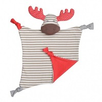 Apple Park Farm Buddies Margeaux Moose Blankie
