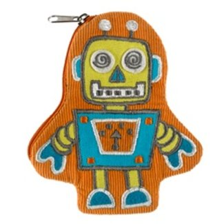 Ore Originals Zippee Coin Pouch Retro Robot