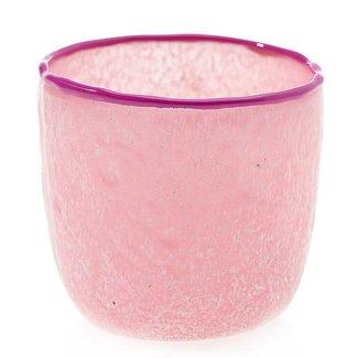 Sasha Votive 3x3 Pink
