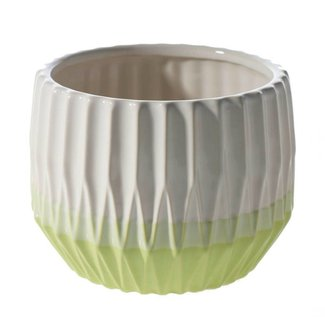 Sunrise Pot 7 x 5 Green