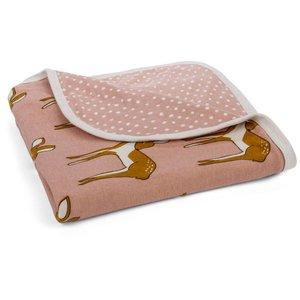 Milkbarn, LLC Stroller Blanket Rose Doe