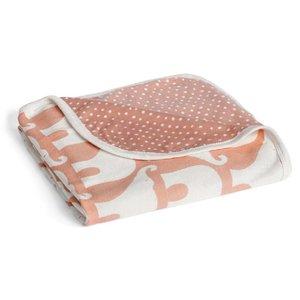 Milkbarn, LLC Stroller Blanket Rose Elephant