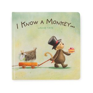Jelly Cat Book: I Know A Monkey