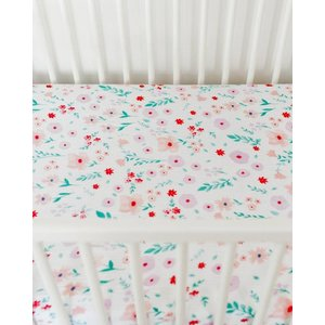 Little Unicorn Cotton Muslin Crib Sheet - Morning Glory