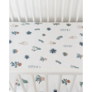 Little Unicorn Cotton Muslin Crib Sheet - Prickle Pots
