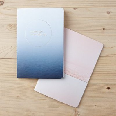 Compendium Her Heart Is By The Sea - Notebook