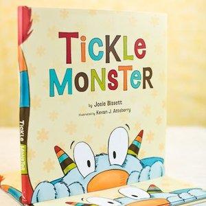 Compendium Tickle Monster Book
