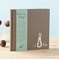 Compendium Welcome Baby - Aqua Bellyband - Boy