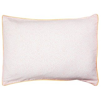 Meri Meri Coral Dot Pillowcase
