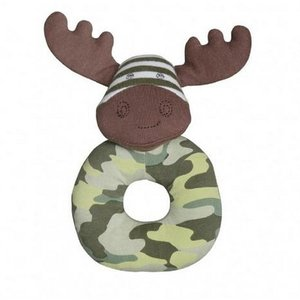Apple Park Marshall Moose Teething Rattle