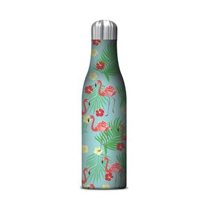 Studio Oh! Water Bottle - Flamingos