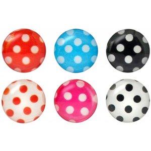 iDecoz Polka Dot Home Button Sticker Pack