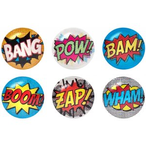 iDecoz Comic Home Button Sticker Pack