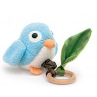 Apple Park Crawling Birdie Teething Toy - Blue