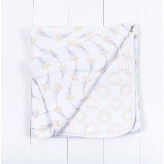 Muslin Wildflower/Halo Bebe Snuggle Blanket