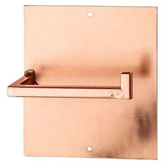 Metal Toilet Paper Holder - Copper Finish