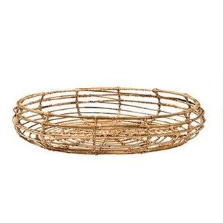 Round Rattan Basket Large