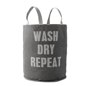 Wash Dry Repeat Laundry Bag