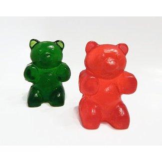 Large Gummy Bear Soap Green