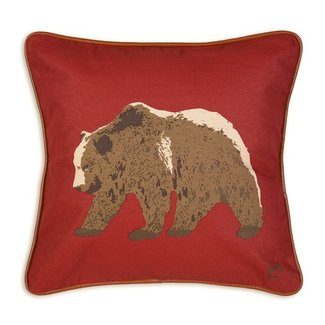 Grizzly Bear 20 Pillow
