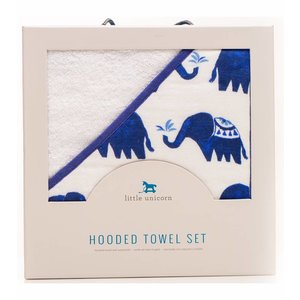Little Unicorn Hooded Towel Set -  Indie Elephant