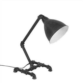 """17"""" Metal Desk Lamp - Black"""