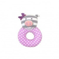 Apple Park Penny the Pig Teething Rattle