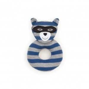 Apple Park Robbie Raccoon Teething Rattle