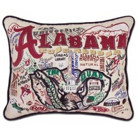 Catstudio Alabama University  College Embroidered Pillow