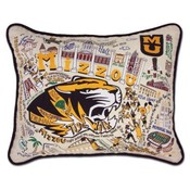 Catstudio Mizzou University College Embroidered Pillow